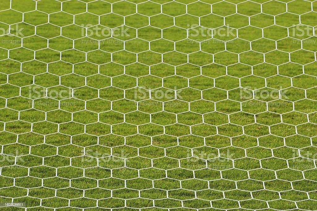 goalpost net detail royalty-free stock photo
