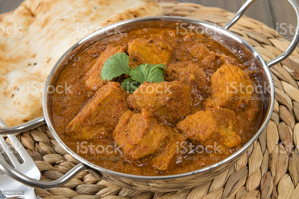Goan Pork Vindaloo royalty-free stock photo