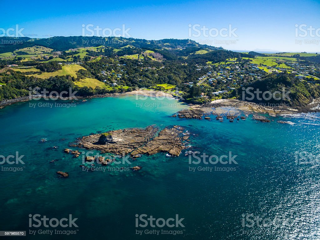 Goat Island Marine Reserve stock photo