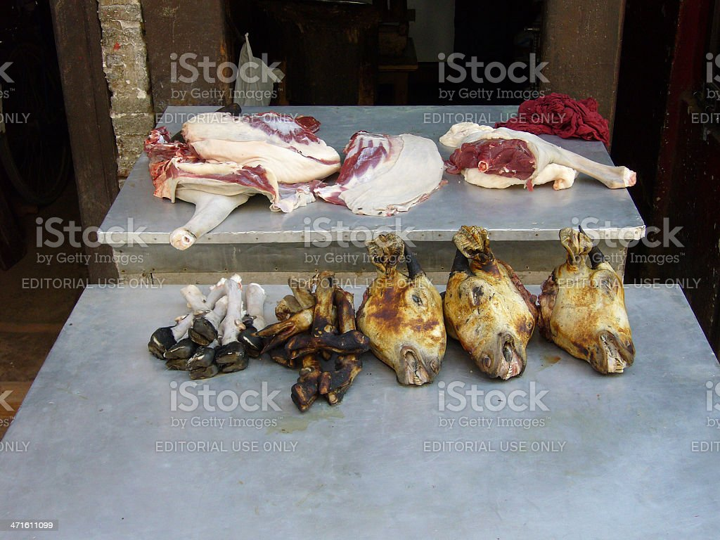 goat meat royalty-free stock photo