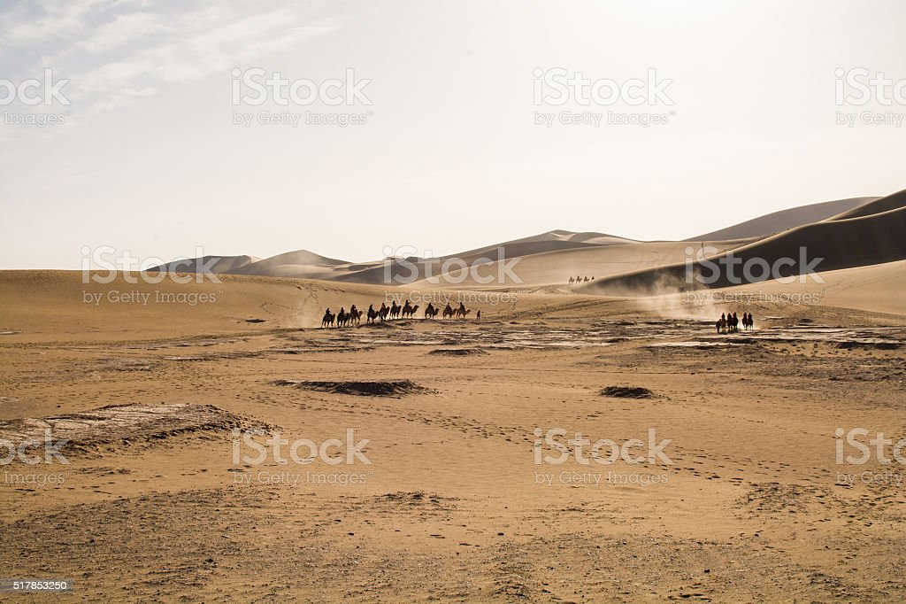 Gobi Desert, China stock photo