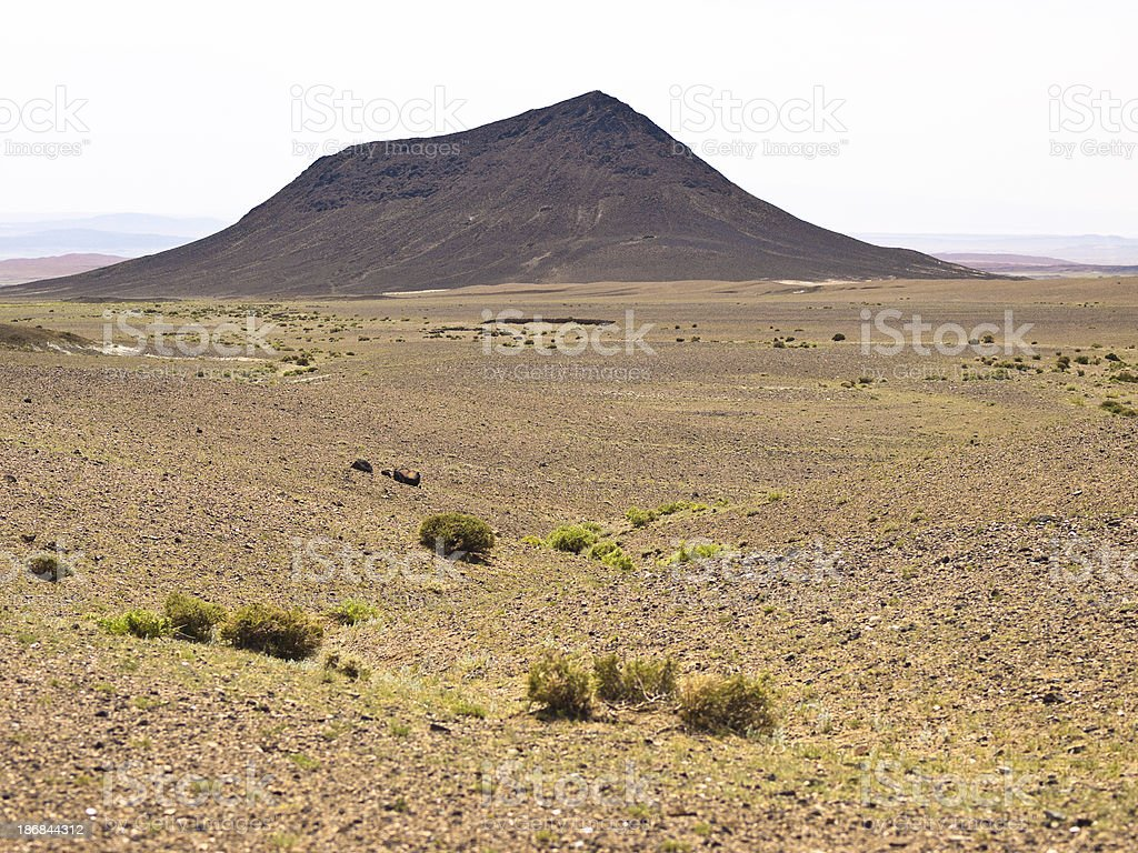Gobi desert royalty-free stock photo