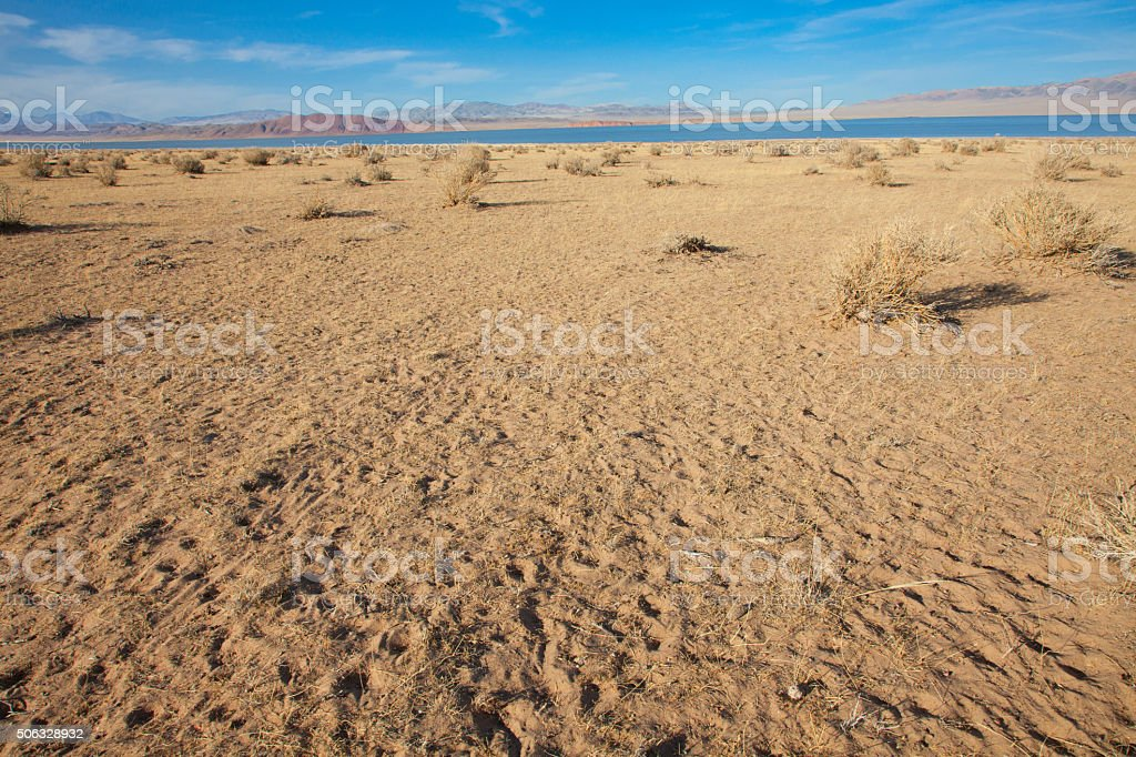 Gobi Desert stock photo