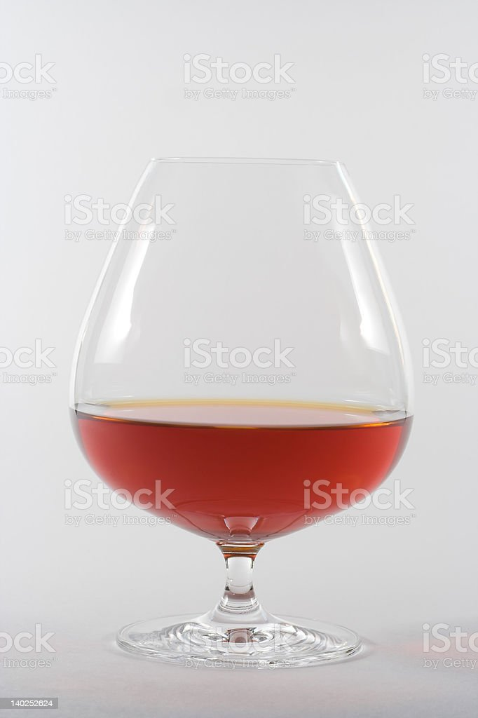 Goblet of spirit stock photo