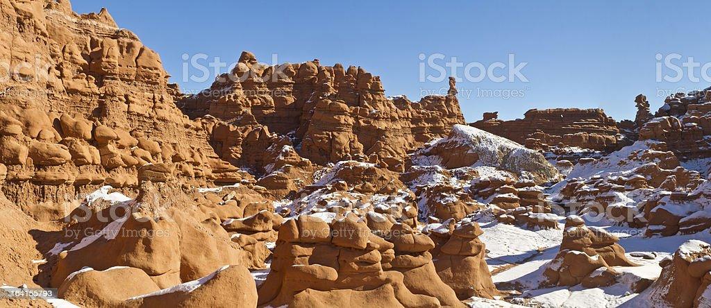 Goblin Cliffs Panorama royalty-free stock photo