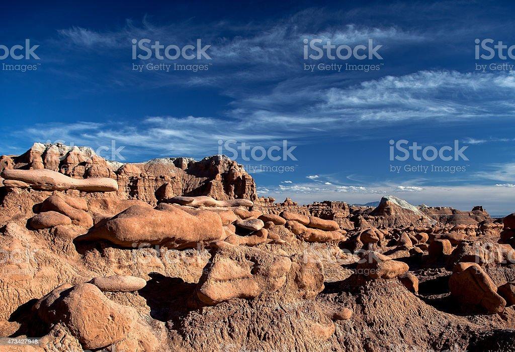 Goblin Valley stock photo