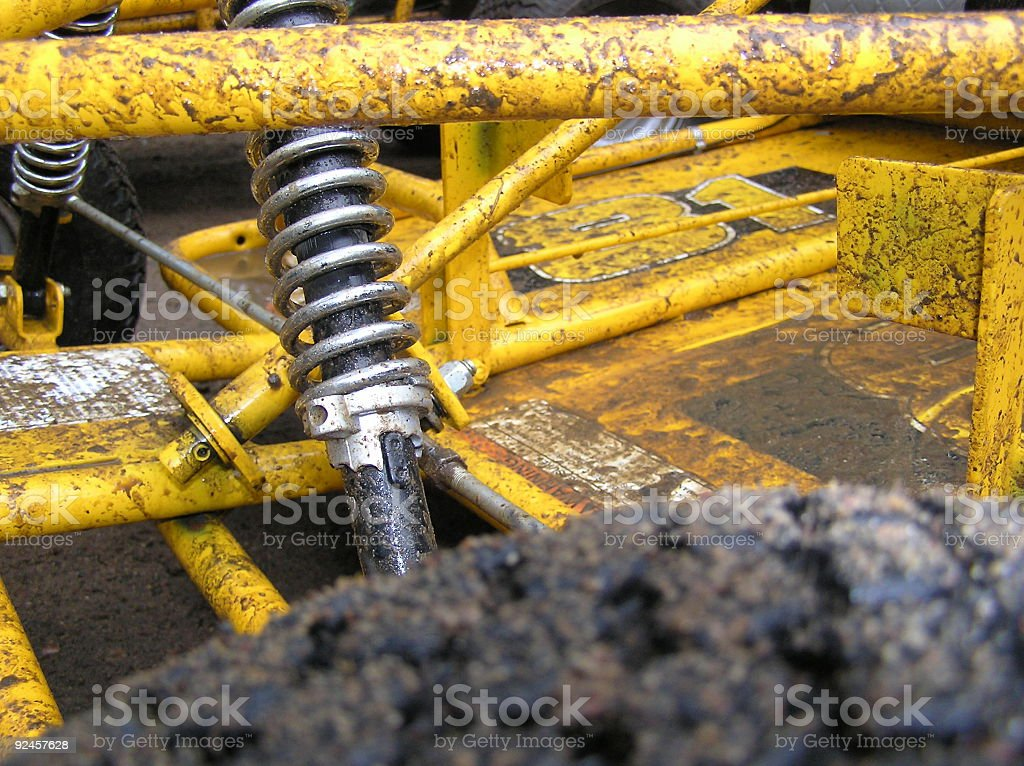 Go-Cart front end royalty-free stock photo