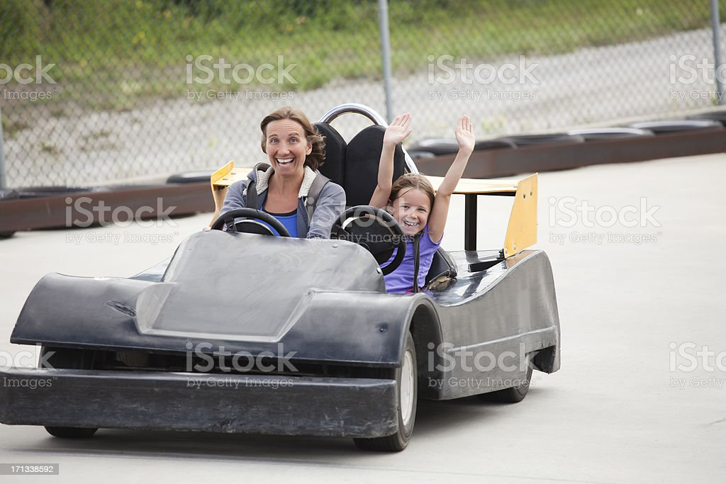 Go-Carting royalty-free stock photo