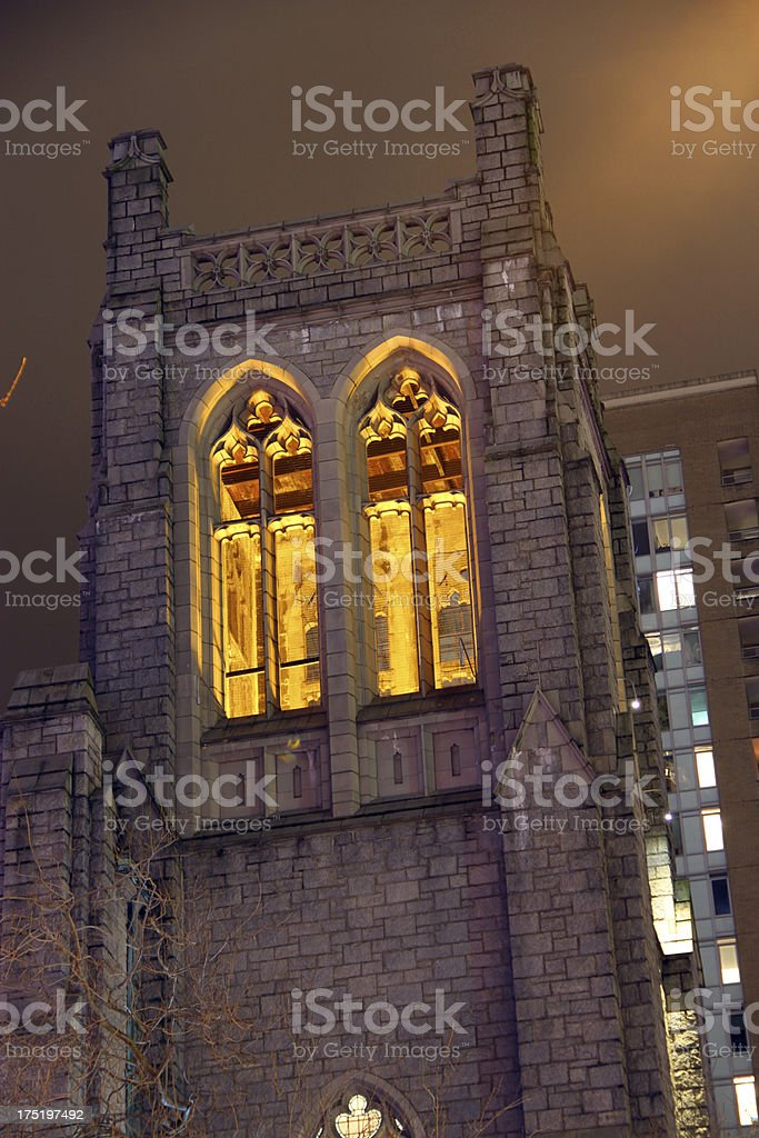 God and the Night royalty-free stock photo