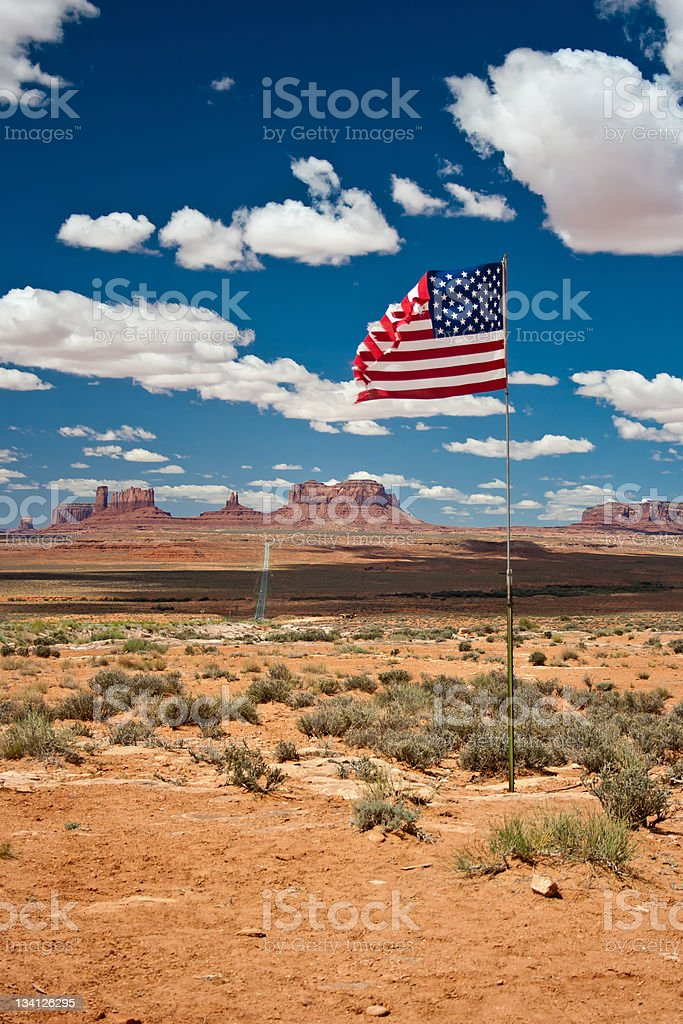 God bless America stock photo