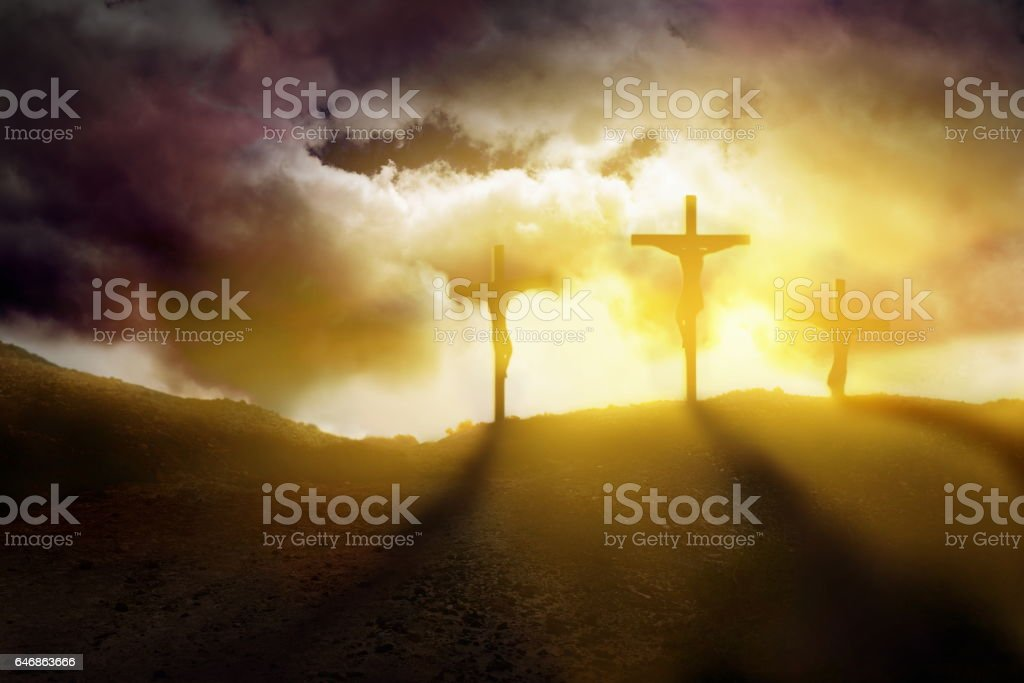 God blessing Jesus stock photo