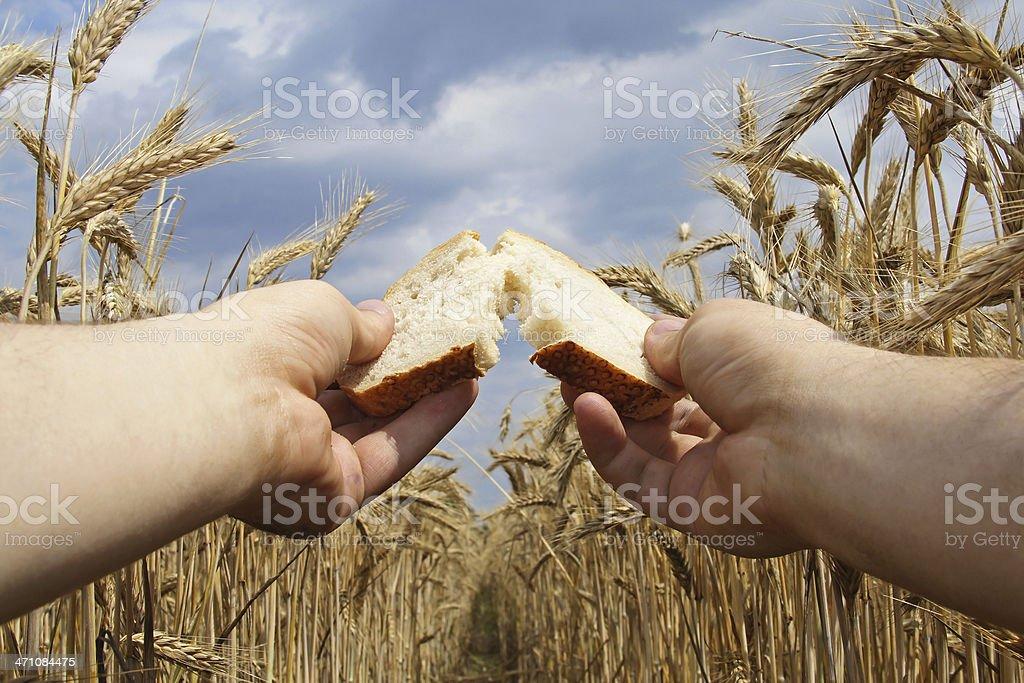 God Bread royalty-free stock photo