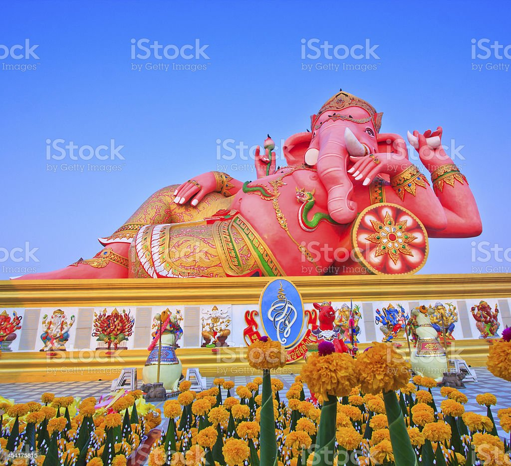 God Ganesh royalty-free stock photo