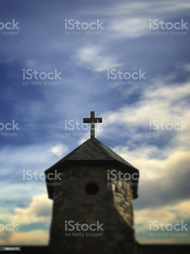 God is in the Details royalty-free stock photo