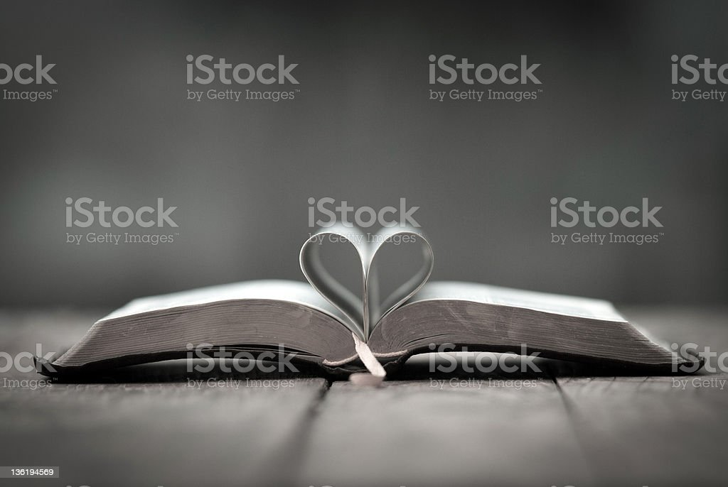 God is love ! stock photo