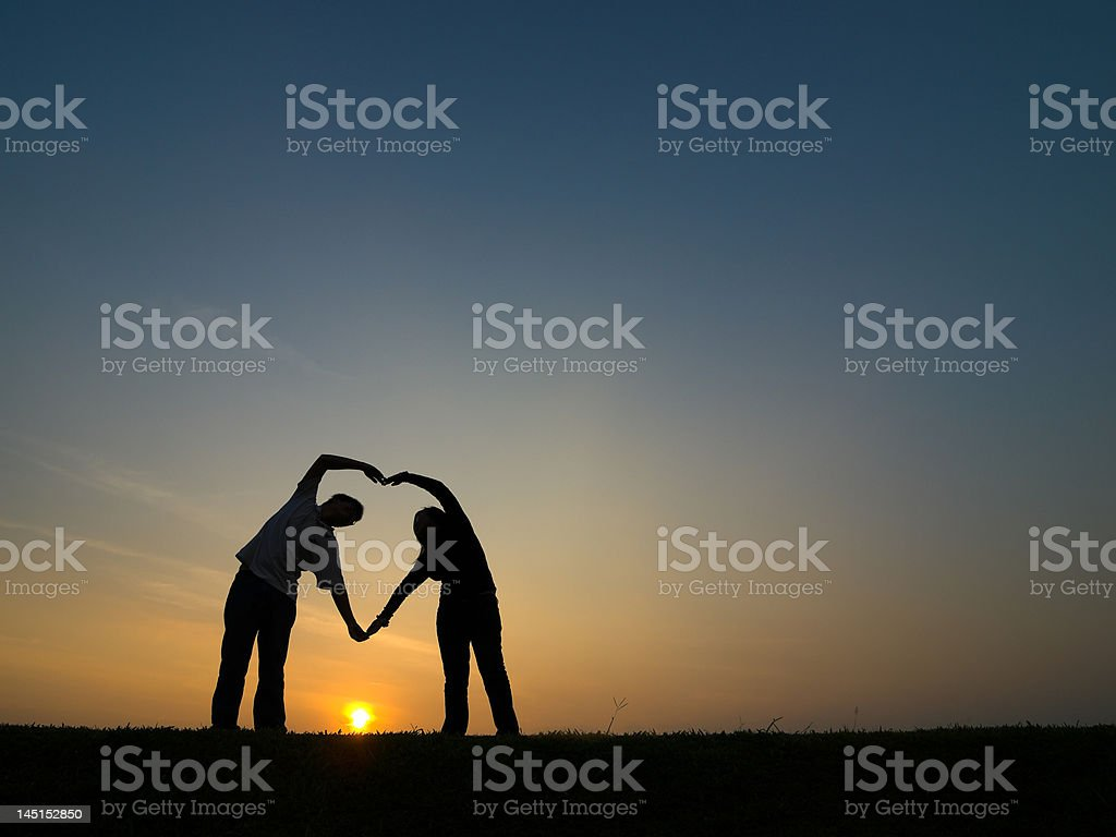 God is Love royalty-free stock photo