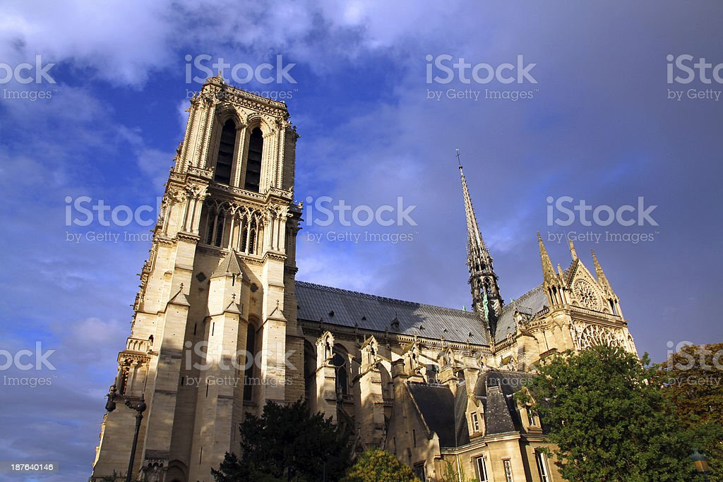 God of Paris royalty-free stock photo