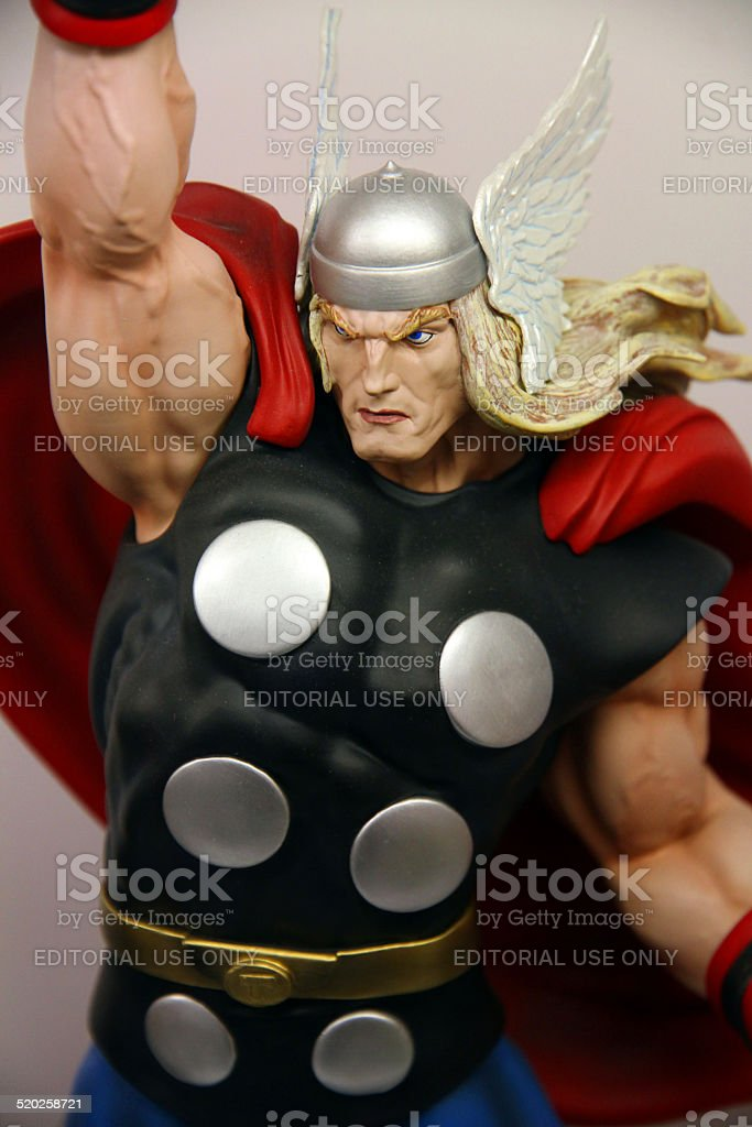 God of Thunder stock photo