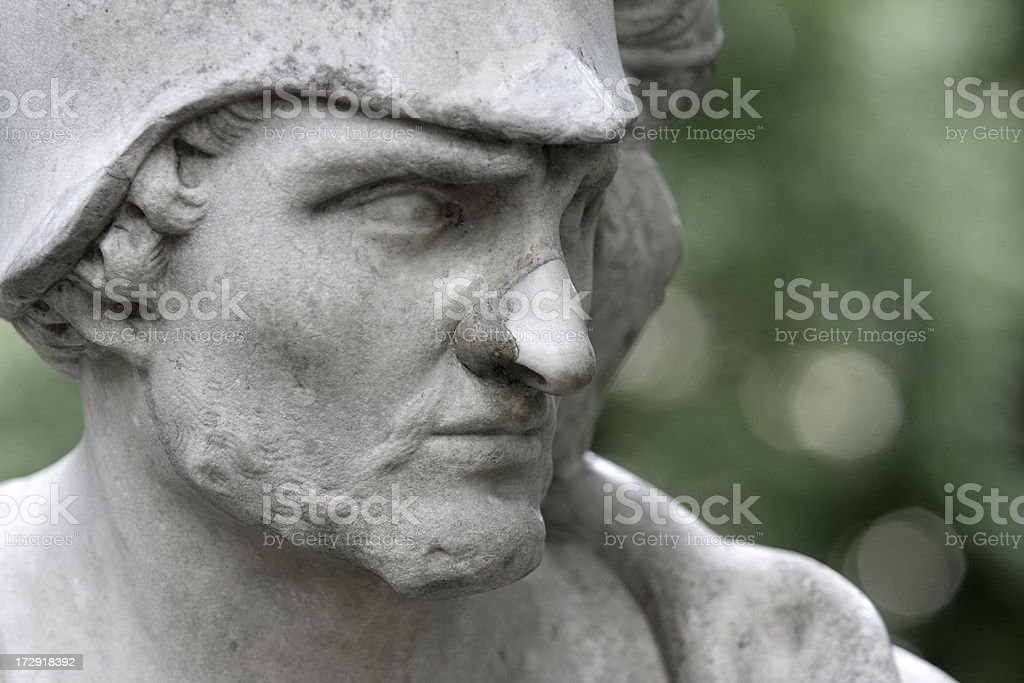 God of War Ares (Mars) royalty-free stock photo