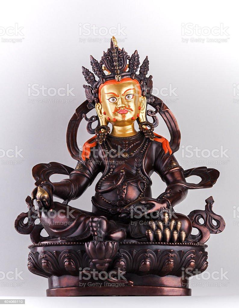 God of wealth Dzambala stock photo