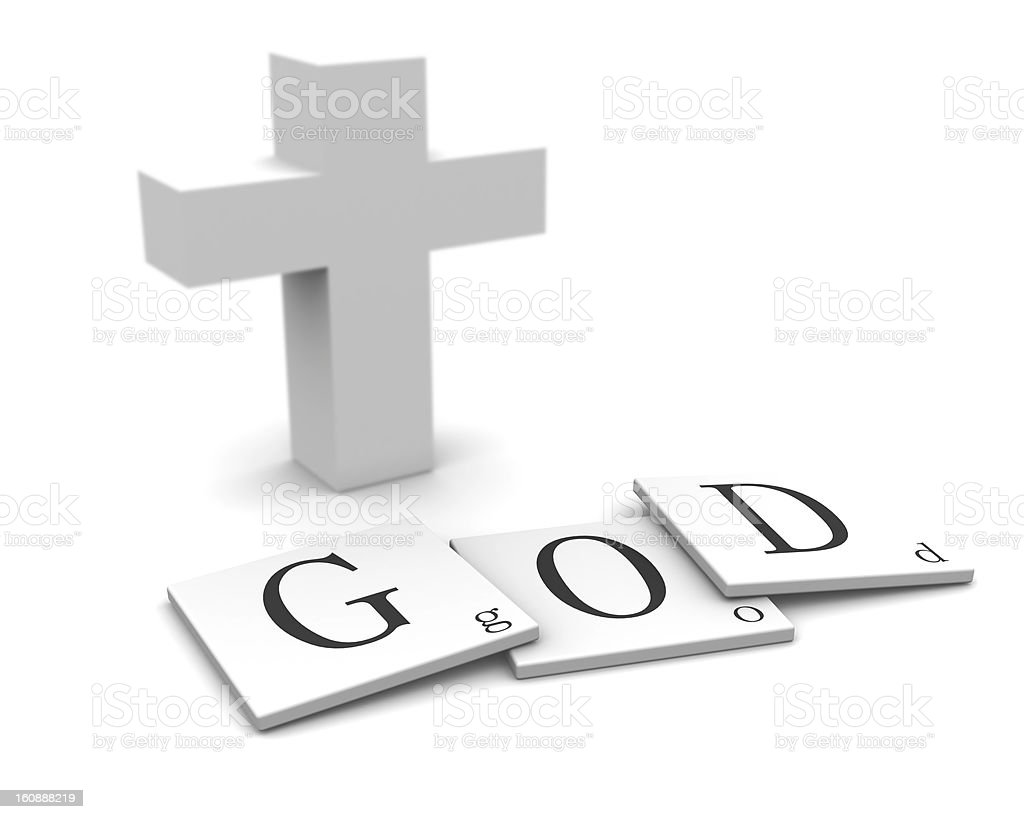 God royalty-free stock photo