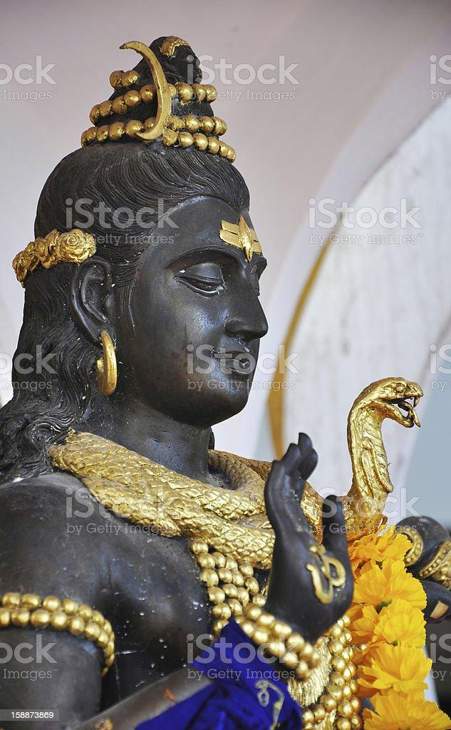 God Shiva royalty-free stock photo
