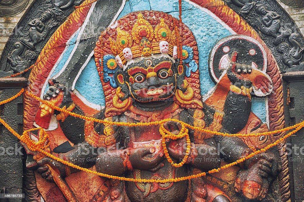 God Shiva stock photo