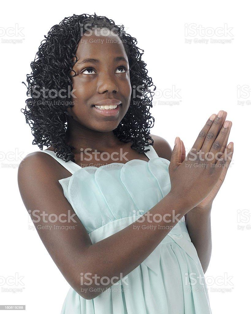 God Speaks to Me royalty-free stock photo