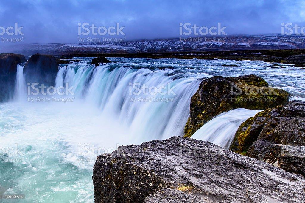 Godafoss, Iceland stock photo