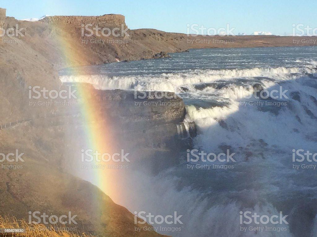 Godafoss Iceland stock photo