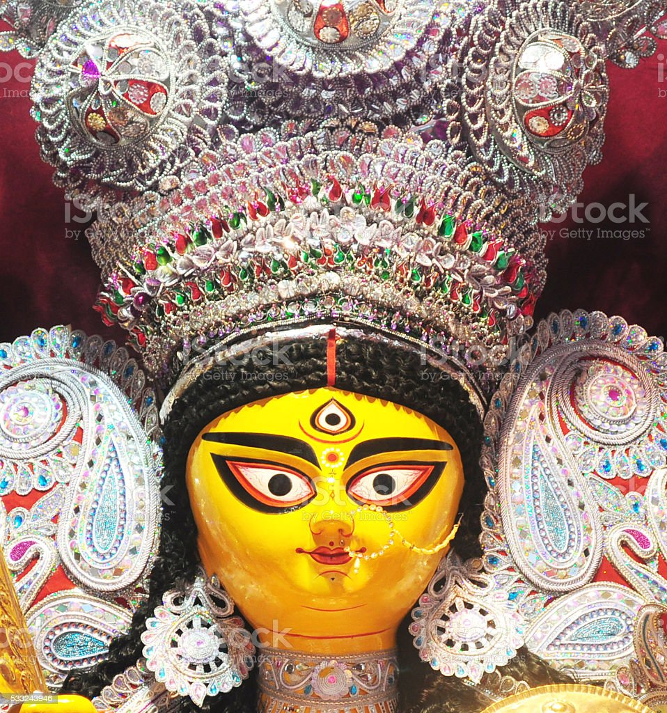 Goddess Durga stock photo