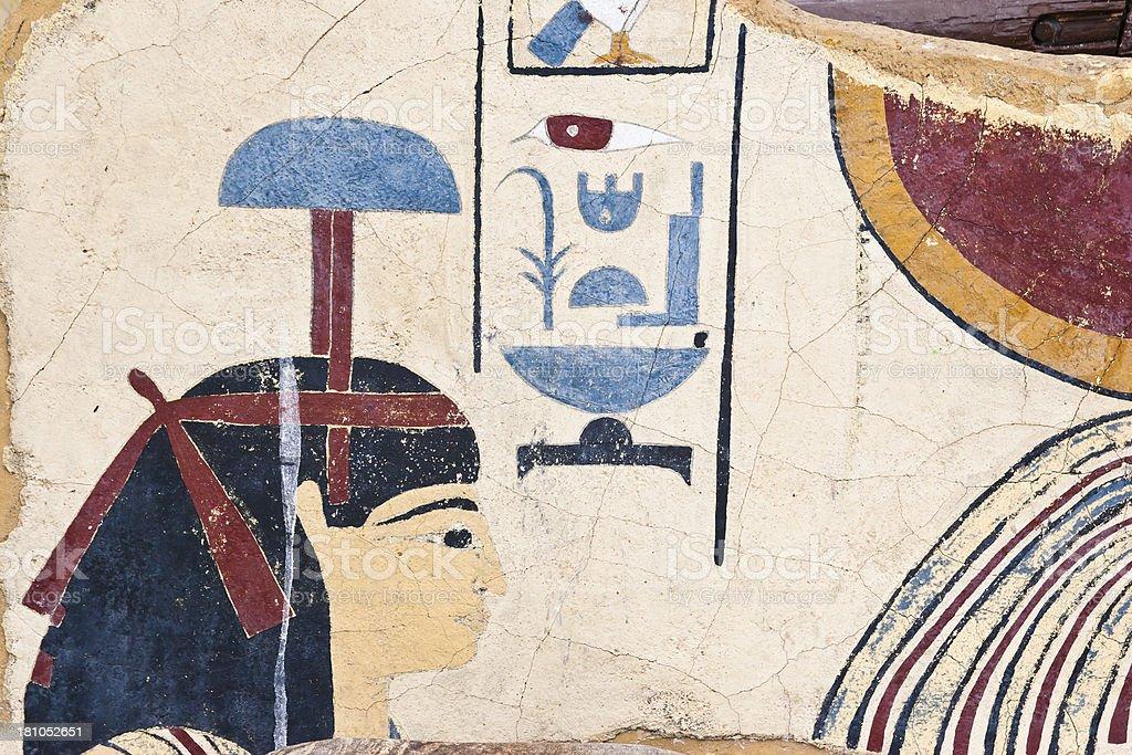 Goddess Isis royalty-free stock photo