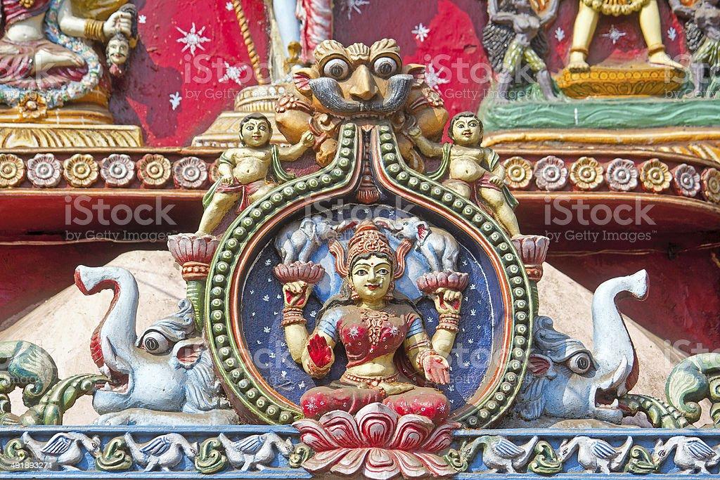 Goddess Lakshmi stock photo