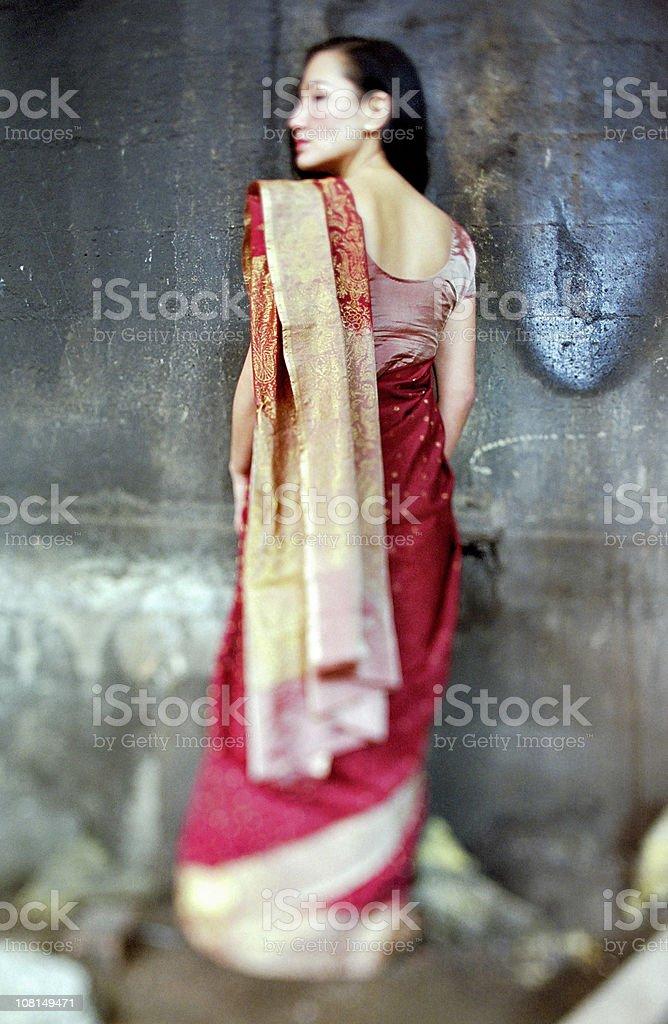 Goddess Looks Back royalty-free stock photo