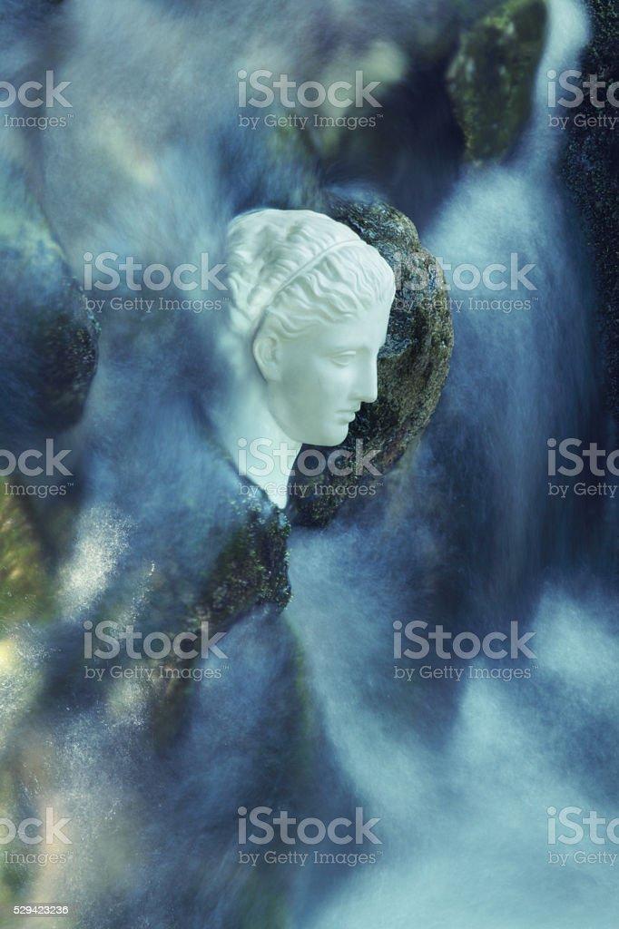 Goddess of beauty stock photo