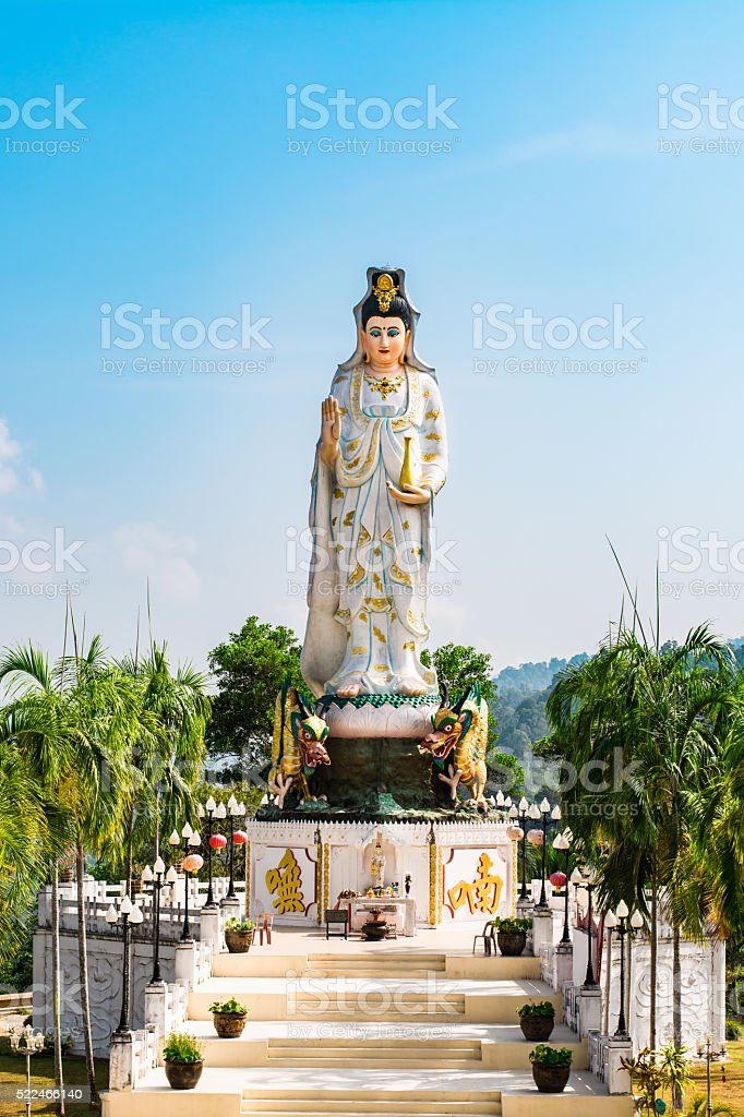 Goddess of Mercy known as Quan Yin or Guan Yin stock photo
