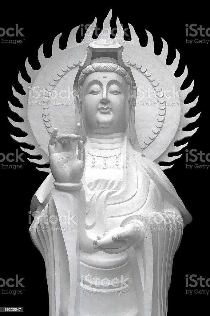 Goddess of mercy - Kuan Yin royalty-free stock photo