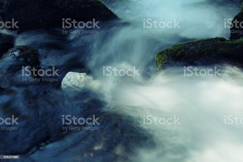Goddess of water stock photo