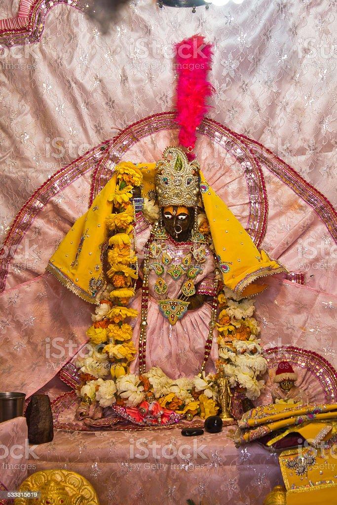 Goddess Yamuna stock photo