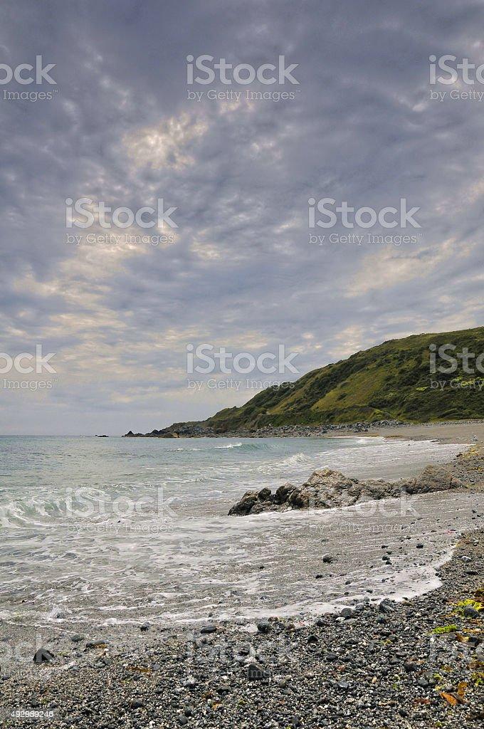 Godrevy Cove. stock photo