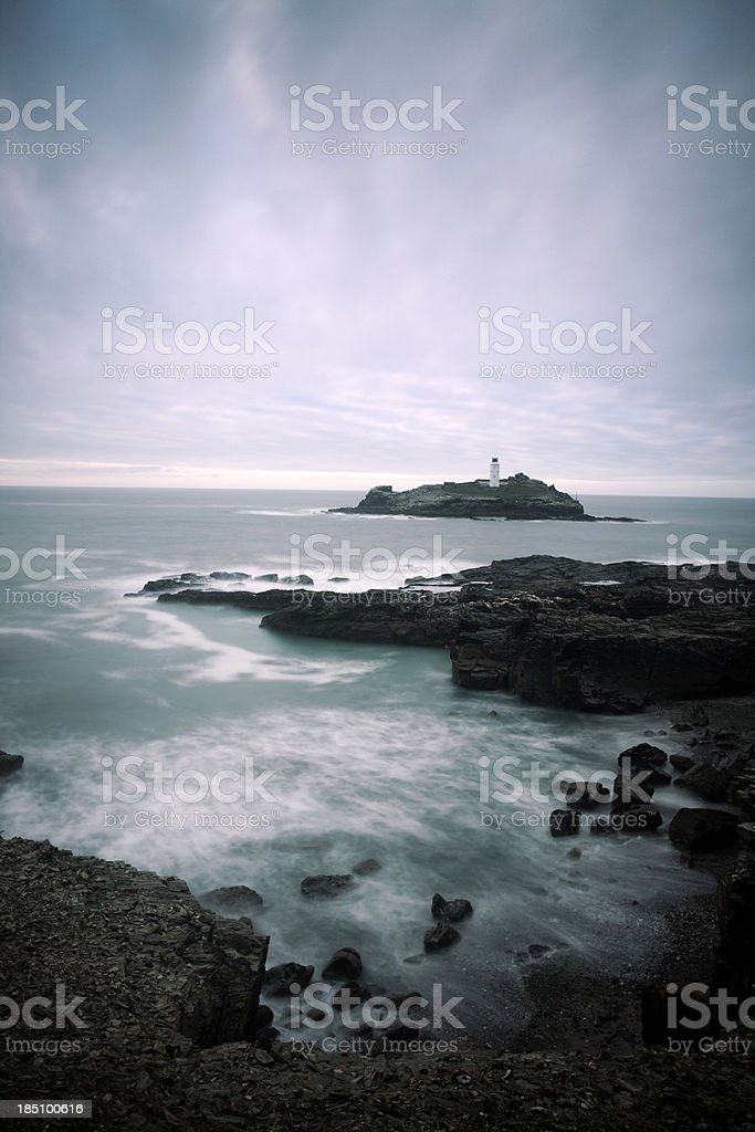 Godrevy Lighthouse stock photo