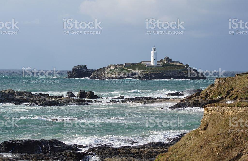 Godrevy Lighthouse stock photo