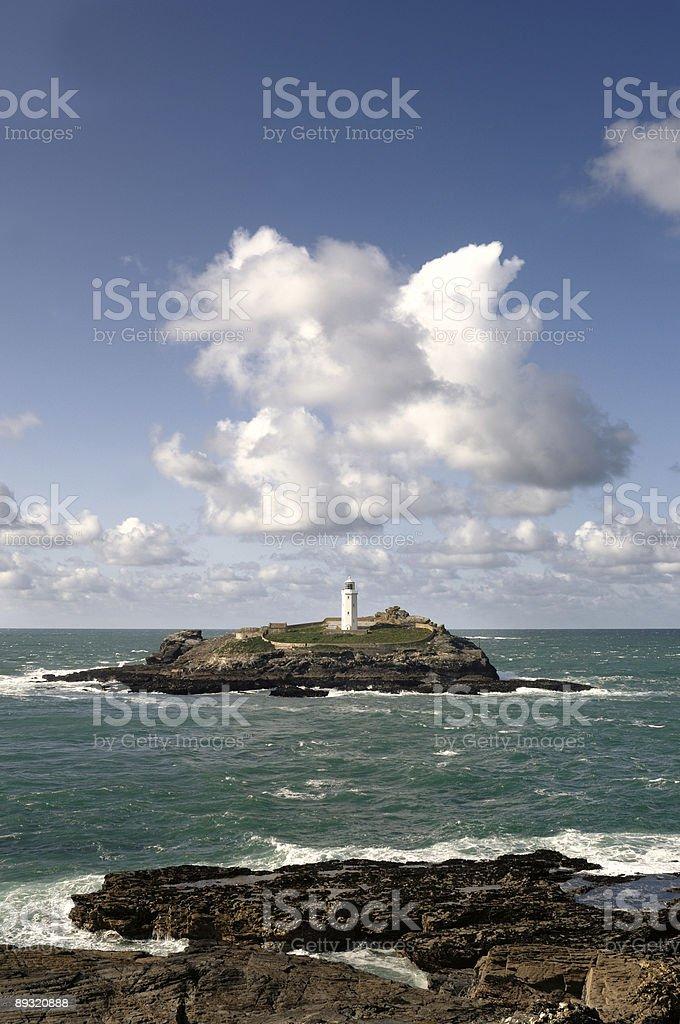 Godrevy Lighthouse royalty-free stock photo