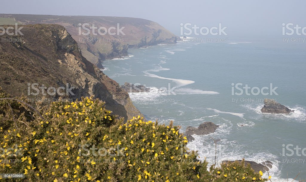 Godrevy Portreath Heritage Coast Cornwall England UK stock photo
