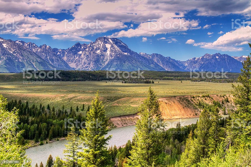 God's Country stock photo