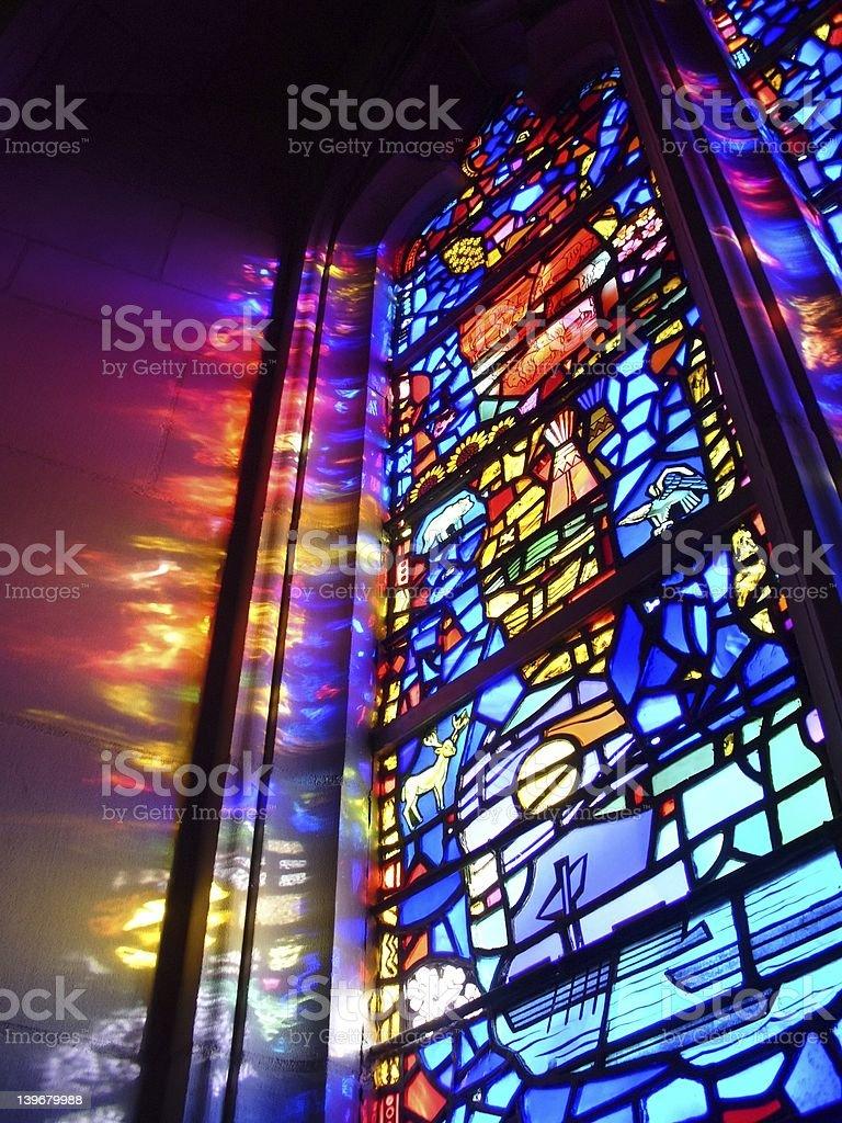 God's Light royalty-free stock photo