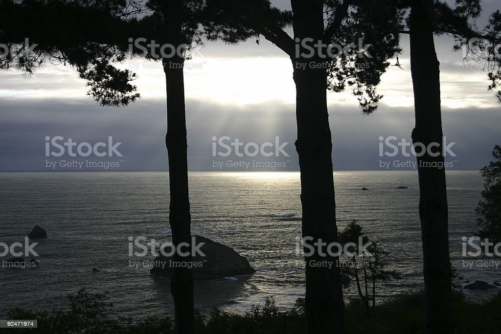 God's Light royalty-free stock photo