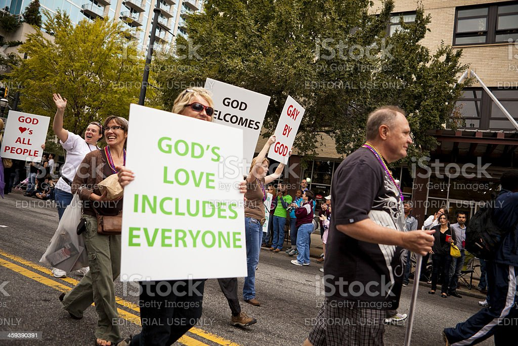 God's love includes everyone stock photo