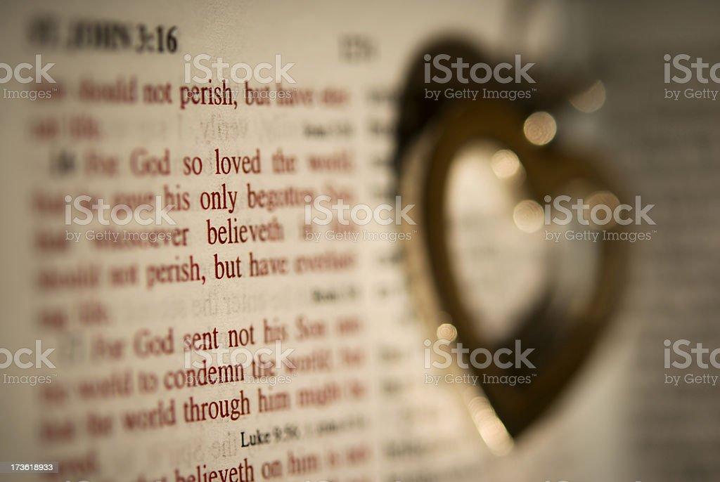 God's Love stock photo
