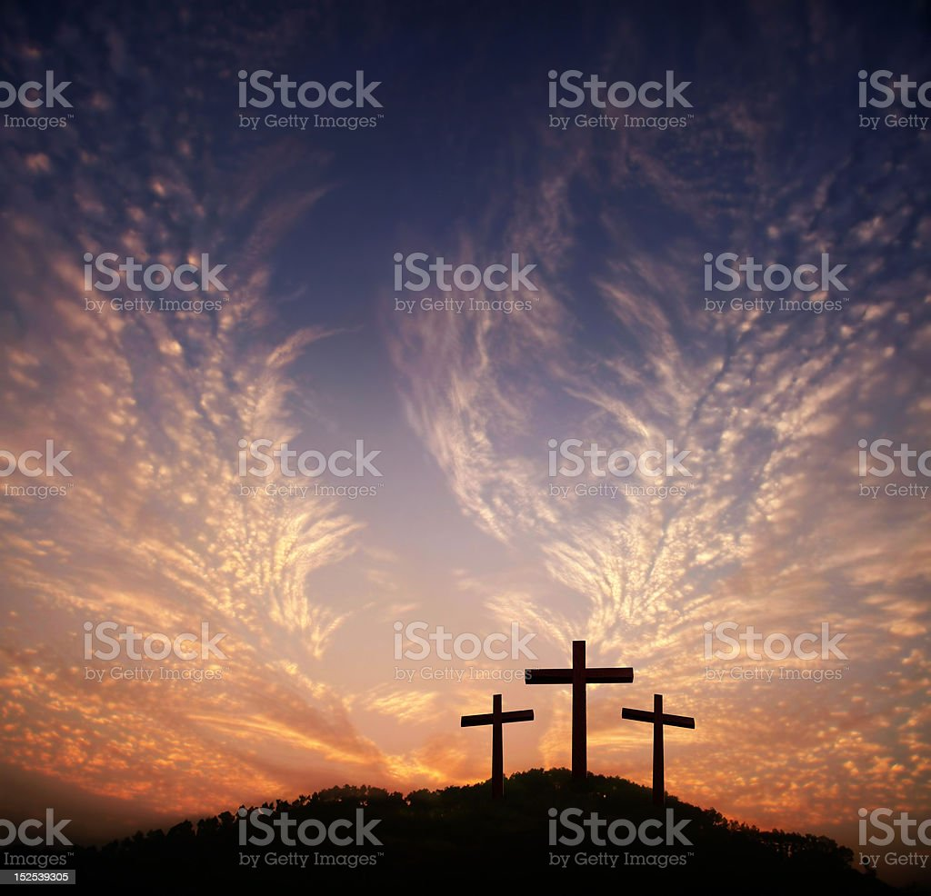 God's love to people royalty-free stock photo